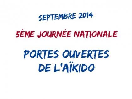 Samedi 20 Septembre 2014 – 5ème journée Nationale – Portes Ouvertes
